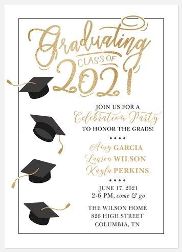 Honor The Grads Graduation Cards