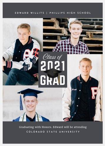 Traditional Cap Graduation Cards