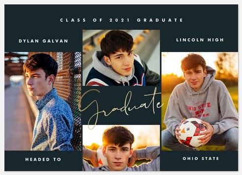 Modern Grad Gallery Graduation Cards