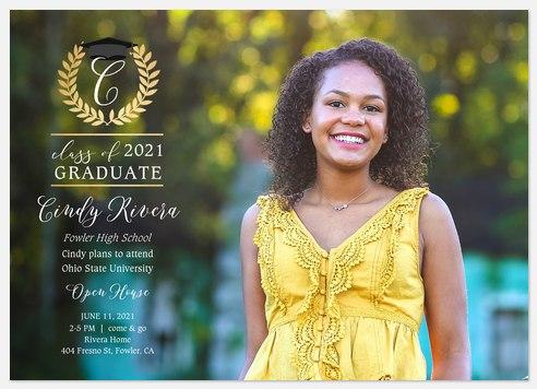 Grecian Wreath Graduation Cards