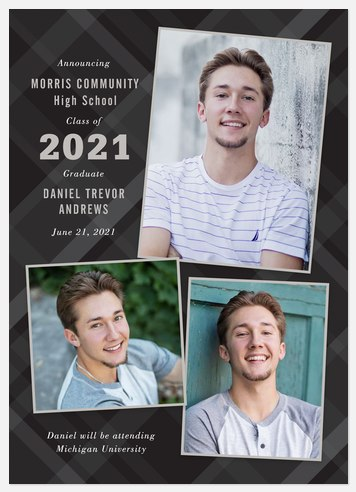 Gray Flannel Graduation Cards