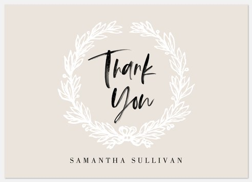 Sophisticated Sketch Thank You Cards