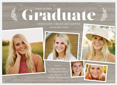 Country Snapshot Graduation Cards