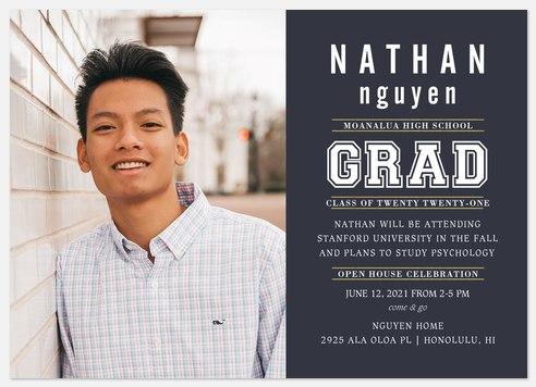 Lettered Grad Graduation Cards