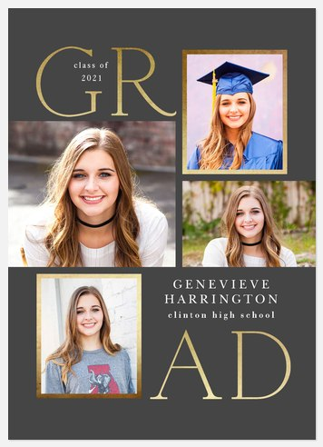 Contemporary Graduation Cards