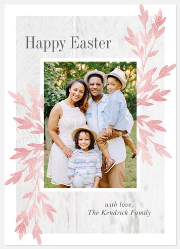 Spring Simplicity Easter Photo Cards