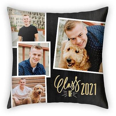 Golden Grad Custom Pillows