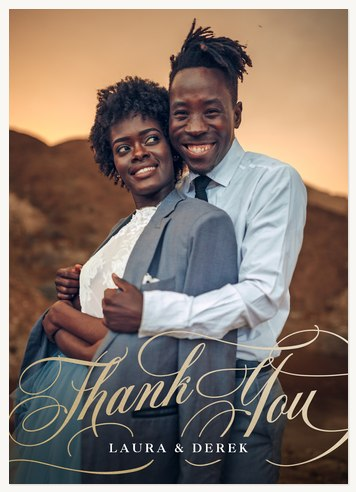 Sophisticated Thank You Cards