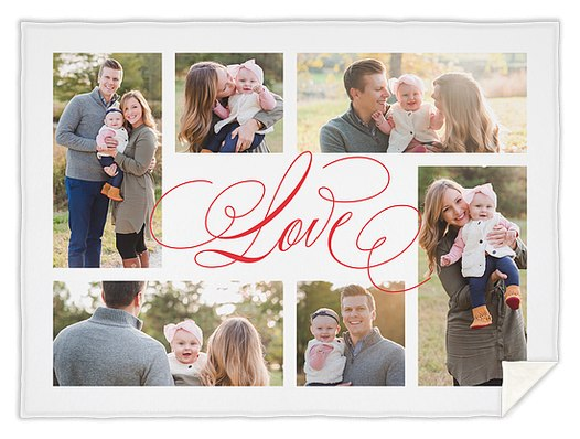 Surrounded By Love Custom Blankets
