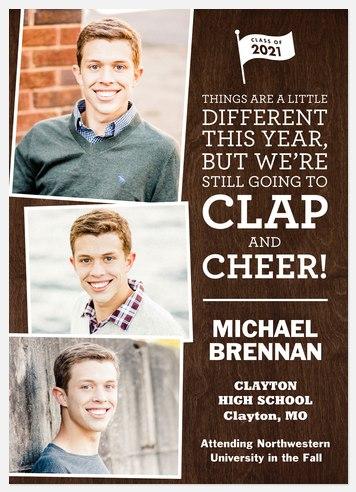 Clap & Cheer Graduation Cards