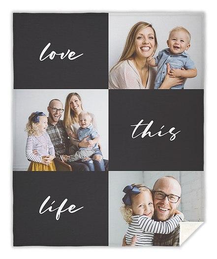 Love This Life Custom Blankets