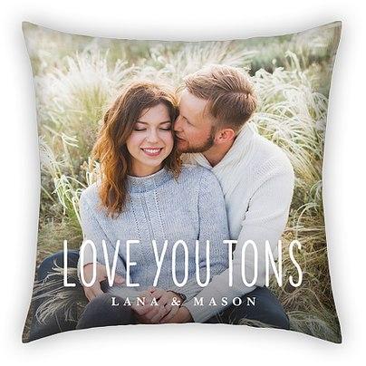 Love You Tons Custom Pillows
