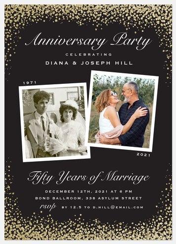 Lasting Love Anniversary Invitations