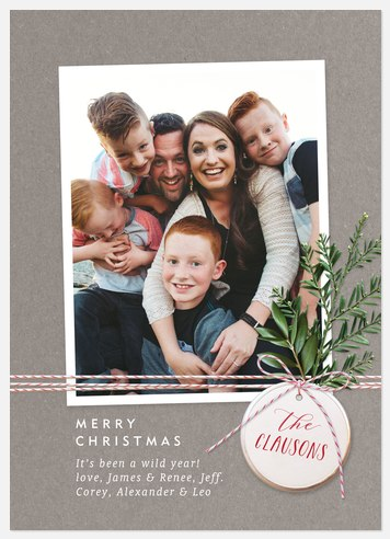 Bakers Twine Holiday Photo Cards