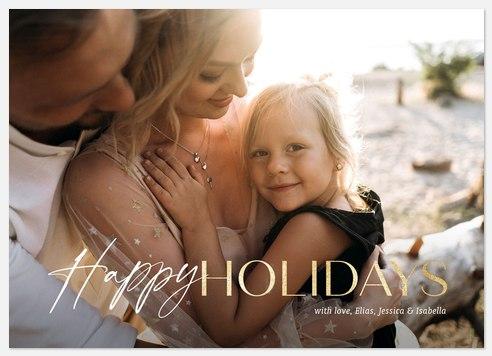 Seasonal Mix Holiday Photo Cards