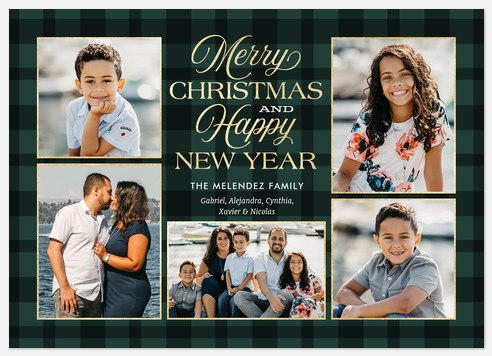 Tartan Gallery Holiday Photo Cards