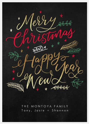 Most Merry Holiday Photo Cards