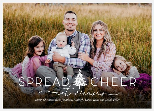 Spread Cheer Holiday Photo Cards