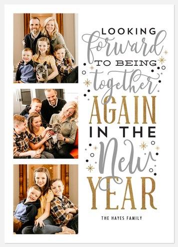 Looking Forward Holiday Photo Cards