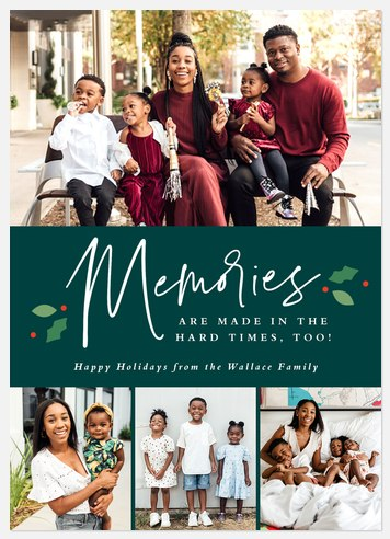 Memories Holiday Photo Cards