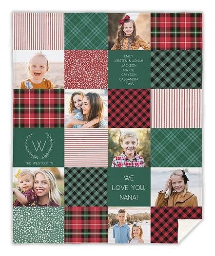 Christmas Quilt Custom Blankets