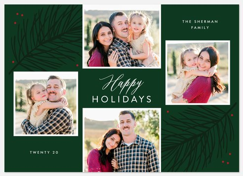 Advent Collage Holiday Photo Cards