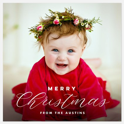Traditional Mix Holiday Photo Cards