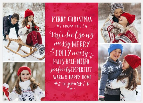 Merry + Jolly Holiday Photo Cards