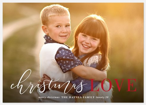Full Hearts Holiday Photo Cards