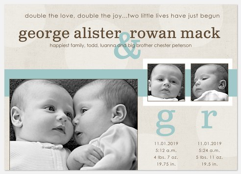 George and Rowan