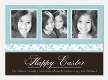 Easter Photo Cards - Robins Egg Blue