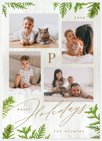 Juniper Clippings Holiday Photo Cards