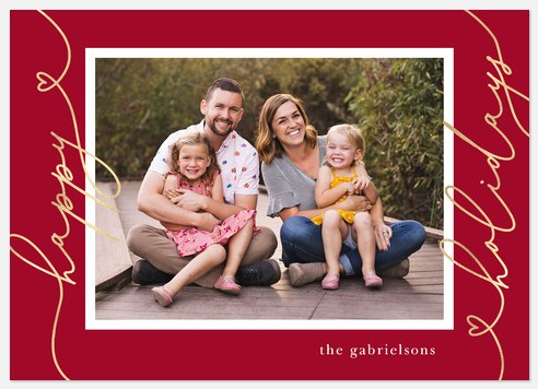 Lovely Greetings Holiday Photo Cards