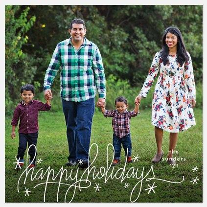 Razzle Dazzle Holiday Photo Cards