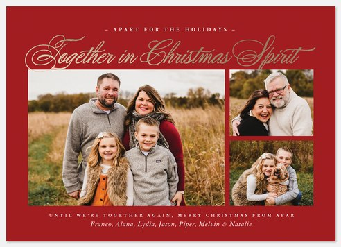 From Afar Holiday Photo Cards