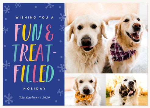 Treat-Filled Personalized Holiday Cards