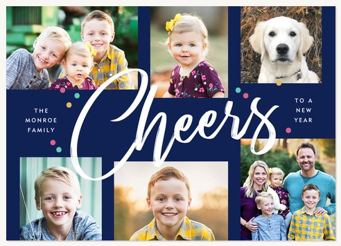 Big Cheer Personalized Holiday Cards