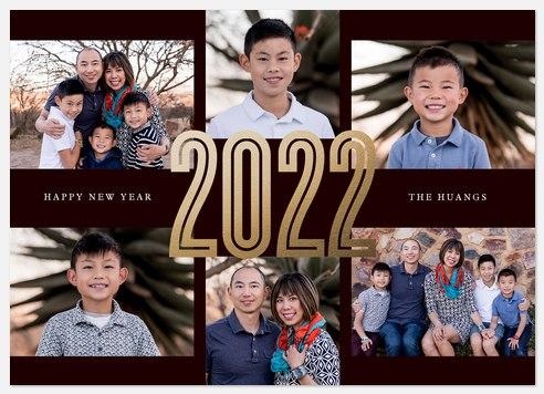 Big Year Holiday Photo Cards