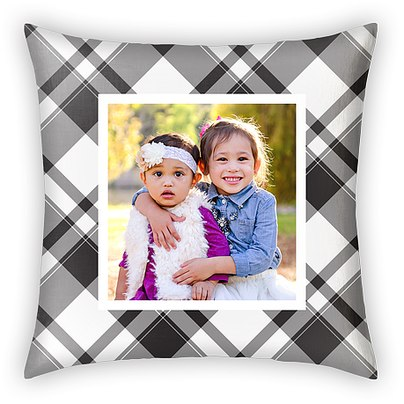 Traditional Plaid Custom Pillows