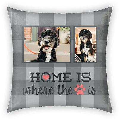 Home Paw Custom Pillows