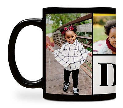Dad Heart Custom Mugs