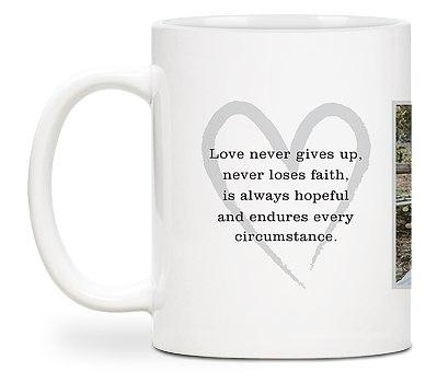 Love Quote Custom Mugs