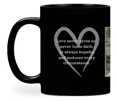 Love Quote Custom Mugs