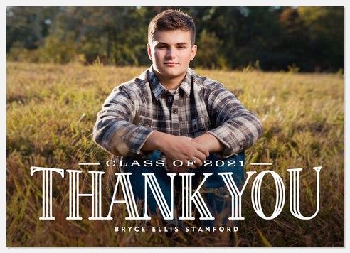 Royal Gratitude Thank You Cards