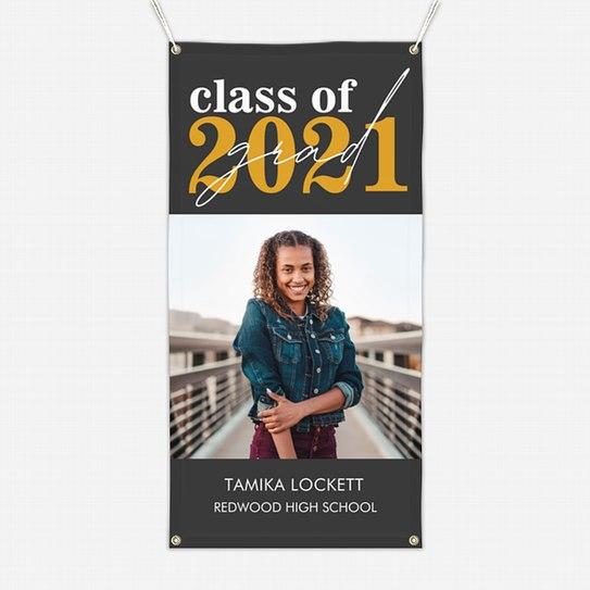 Bold Year Graduation Banners