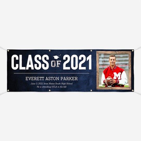 Well Framed Graduation Banners