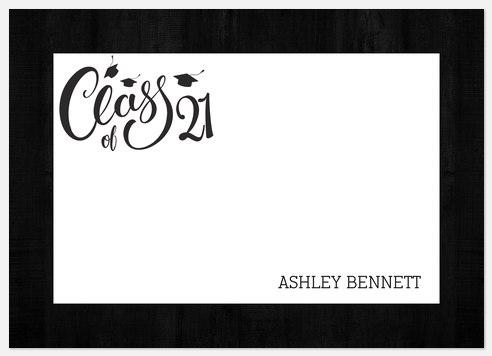 Elegant Script Thank You Cards