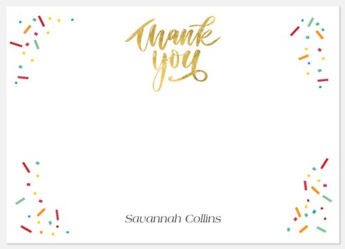 Bright Future Thank You Cards