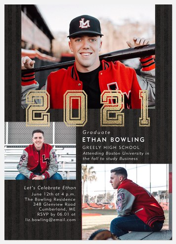 Shining Year Graduation Cards