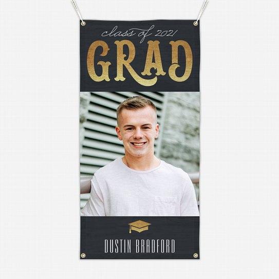 Vintage Grad Graduation Banners